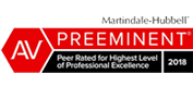 Martindale Hubbell Preeminent logo