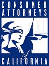 Consumer Attorneys of California logo
